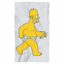 Полотенце Гомер Симпсон в трусиках