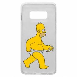 Чехол для Samsung S10e Гомер Симпсон в трусиках
