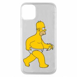 Чехол для iPhone 11 Pro Гомер Симпсон в трусиках