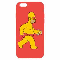 Чехол для iPhone 6/6S Гомер Симпсон в трусиках