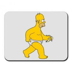 Коврик для мыши Гомер Симпсон в трусиках