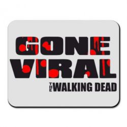 Коврик для мыши Gone viral (Walking dead) - FatLine