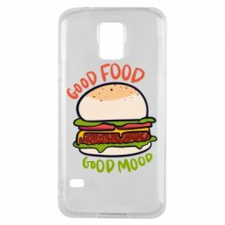 Чехол для Samsung S5 Good Food