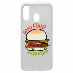 Чехол для Samsung A40 Good Food