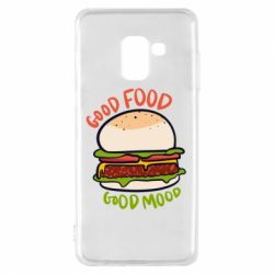 Чехол для Samsung A8 2018 Good Food