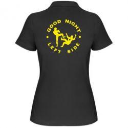 Женская футболка поло Good Night - FatLine