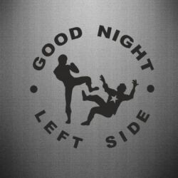 Наклейка Good Night - FatLine
