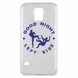 Чехол для Samsung S5 Good Night - FatLine
