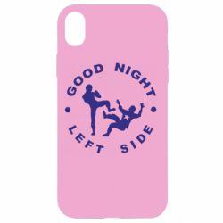 Чехол для iPhone XR Good Night - FatLine