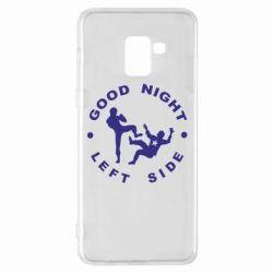 Чехол для Samsung A8+ 2018 Good Night - FatLine