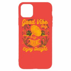 Чехол для iPhone 11 Pro Good Vibe Only - FatLine