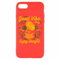 Чехол для iPhone 8 Good Vibe Only - FatLine