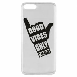 Чехол для Xiaomi Mi Note 3 Good vibes only Fendi