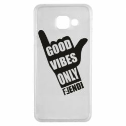 Чехол для Samsung A3 2016 Good vibes only Fendi