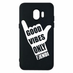 Чехол для Samsung J2 2018 Good vibes only Fendi