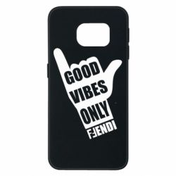 Чехол для Samsung S6 EDGE Good vibes only Fendi