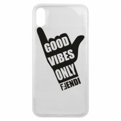 Чехол для iPhone Xs Max Good vibes only Fendi