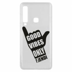 Чехол для Samsung A9 2018 Good vibes only Fendi