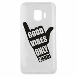 Чехол для Samsung J2 Core Good vibes only Fendi