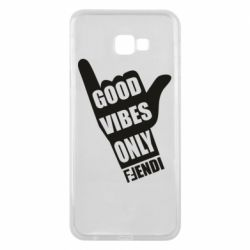 Чехол для Samsung J4 Plus 2018 Good vibes only Fendi