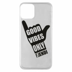 Чехол для iPhone 11 Good vibes only Fendi