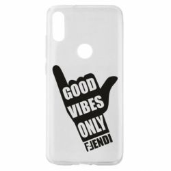 Чехол для Xiaomi Mi Play Good vibes only Fendi