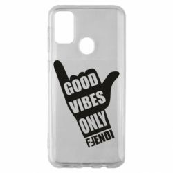 Чохол для Samsung M30s Good vibes only Fendi
