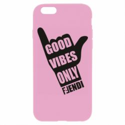 Чохол для iPhone 6 Plus/6S Plus Good vibes only Fendi