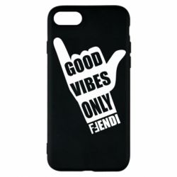 Чехол для iPhone 7 Good vibes only Fendi