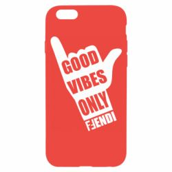 Чохол для iPhone 6/6S Good vibes only Fendi