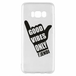 Чехол для Samsung S8 Good vibes only Fendi