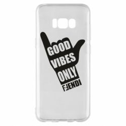 Чехол для Samsung S8+ Good vibes only Fendi