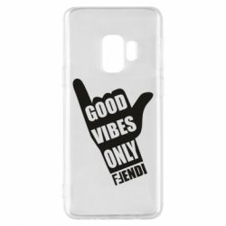 Чохол для Samsung S9 Good vibes only Fendi