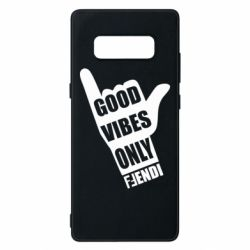 Чехол для Samsung Note 8 Good vibes only Fendi