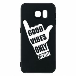 Чехол для Samsung S6 Good vibes only Fendi