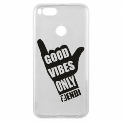 Чехол для Xiaomi Mi A1 Good vibes only Fendi