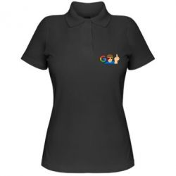 Жіноча футболка поло Google guy Fuck You