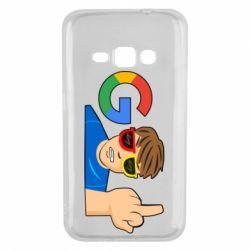 Чохол для Samsung J1 2016 Google guy Fuck You