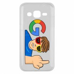 Чохол для Samsung J2 2015 Google guy Fuck You
