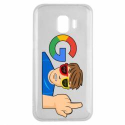 Чохол для Samsung J2 2018 Google guy Fuck You
