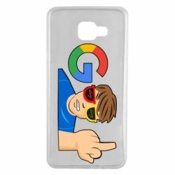 Чохол для Samsung A7 2016 Google guy Fuck You