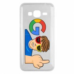 Чохол для Samsung J3 2016 Google guy Fuck You