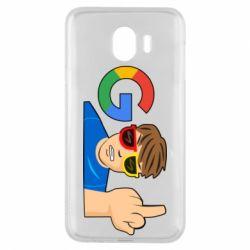 Чохол для Samsung J4 Google guy Fuck You