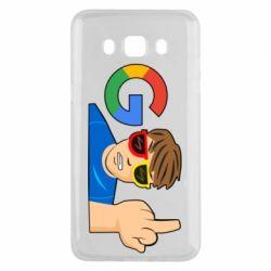 Чохол для Samsung J5 2016 Google guy Fuck You