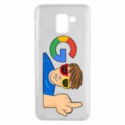 Чохол для Samsung J6 Google guy Fuck You