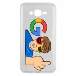 Чохол для Samsung J7 2015 Google guy Fuck You