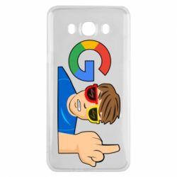 Чохол для Samsung J7 2016 Google guy Fuck You