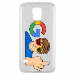 Чохол для Samsung S5 Google guy Fuck You