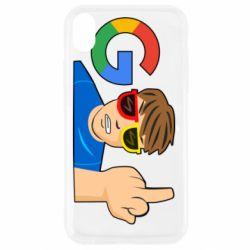 Чохол для iPhone XR Google guy Fuck You