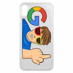 Чохол для iPhone Xs Max Google guy Fuck You